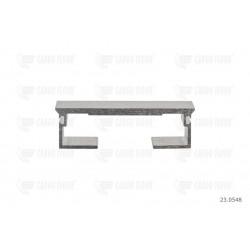 Profilo in alluminio 6 / 112mm-DS liscio