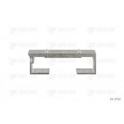 Profilo in alluminio 8/112 mm nervato