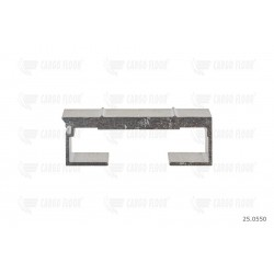 Profilo in alluminio 10 / 112mm nervato