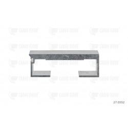 Profilo in alluminio 10 / 112mm liscio