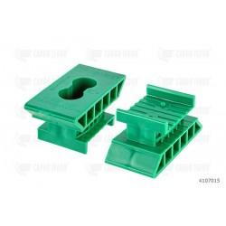 Supporto H44 a scatto 60 mm. (verde)