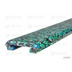 Profilo portante in plastica solido per serie LP / LR