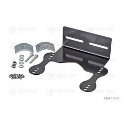 Staffa di montaggio (scatola di controllo) incl. materiali di fissaggio